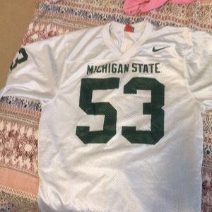 MSU #53 jersey